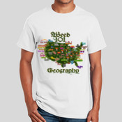 Weed 101- Geography (Men) - Ultra Cotton 100% Cotton T Shirt